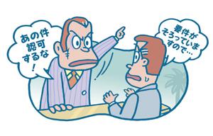 許認可等をしないことを要求する行為